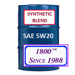 Synthetic blend diesel and motor oils synthetic blend for Motor oil 55 gallon drums wholesale